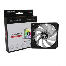 XILENCE Performance A+ case fan, XPF120RGB-SET, 120mm LED + RGB Set Controller + M/B sync, Hydro bearing, PWM