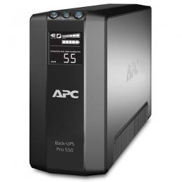 APC Back-UPS Pro Power Saving, 550VA/330W, 230V, LCD, AVR,  6xC13 outlets (3 Surge & 3 batt.), Data/DSL protection, USB, PCh, user repl. batt., 2 year warranty (незначительное повреждение коробки)